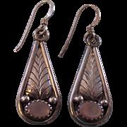 Sterling Silver Pink MOP Southwestern Earrings
