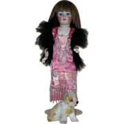 SOLD Beautiful Antique Simon Halbig Flapper Doll 1159