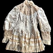 SOLD Wonderful Antique Blouse / Jacket for Making Doll Dresses