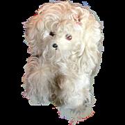 SOLD Vintage Jerry Elsner Mohair Dog