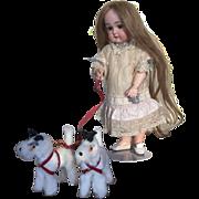 SOLD Cute Little Antique Kestner Doll