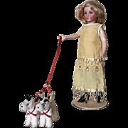 SALE PENDING Elegant Antique Cuno Otto Dressel Lady Doll 1469