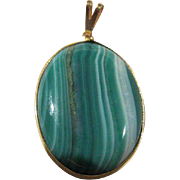 SALE Gorgeous Brazilian Agate Natural Stone Pendant