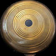 SALE Coty Paris/New York Brass Powder Compact