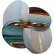 SALE Great Henkel and Grosse Modernist Vintage Pin  NOS with Original tag