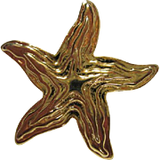 SALE Park Lane Starfish Pin/Brooch Pendant