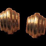 SALE Art Deco Inspired Sterling Silver 925  Earrings