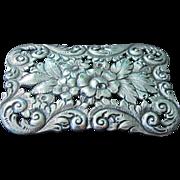 SALE Vintage Sterling Silver Brooch