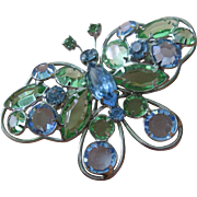 Amazing Vintage Butterfly Brooch
