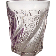EAPG Crystal WEDDING BELLS Tumbler Fostoria Glass Co. 1900