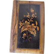 French Marquetry Travelling Photo Frame