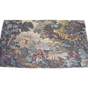 """French Tapestry """"Le Pont"""""""