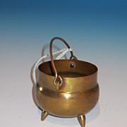 Mini  Brass Bucket