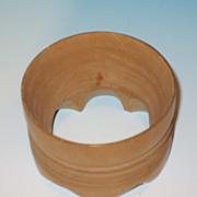 Wooden Cookie Cutter