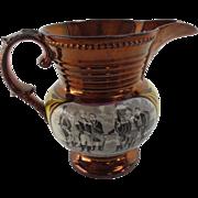 Rare Copper Lustreware