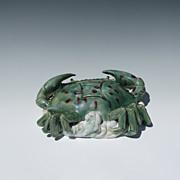 Chinese Crab Wall Pocket