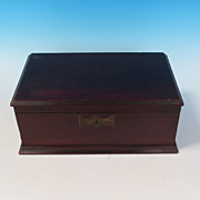 Mahogany Document Box