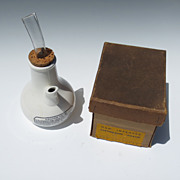 Maw Improved Earthenware Inhaler with original Box
