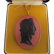 Wedgwood Cameo Medallion on Chain