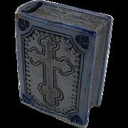 Stoneware Book Shaped Bank