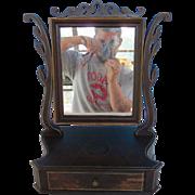 19th Century Shaving Mirror