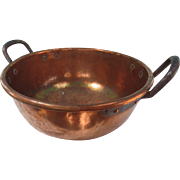 Very Large Copper Candy Kettle