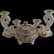 Very Fine Portuguese 3 Piece Mantle Garniture