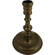 Queen Anne Brass Candle Stick