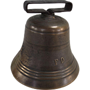 Very Large Brass / Bronze Hand Bell