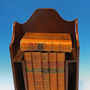"REDUCED ""Madme De Remusat"" leather bound  6 volume set"