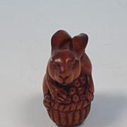 Netsuke of a Rabbit