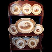 REDUCED Royal Worcester Porcelain Game Set