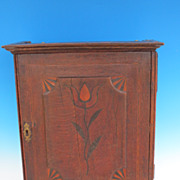 Eighteenth Century English 8 drawer spice cabinet