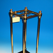 Brass and Iron Umbrella Stand