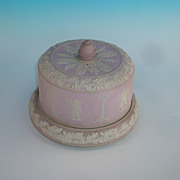 Wedgwood Cheese dish, Lilac in color