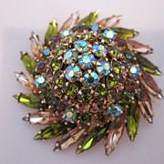 SALE Glamorous Pinwheel Style Beau Geste Brooch