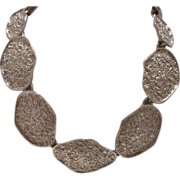 Chunky Park Lane Silver-Tone Necklace