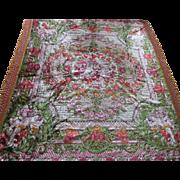 Gorgeous Italian Cut Velvet Cupid Wedding Bedspread/Throw/Tablecloth