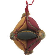 19th Century Puzzle Ball Pin Cushion