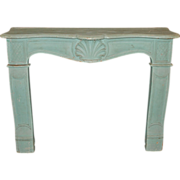 Antique French Fireplace Surround, Mantel
