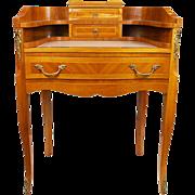 SALE Vintage Mahogany Writing Desk