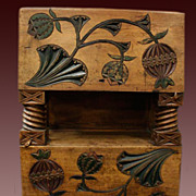 SOLD Russian Antique Carved Chest Abramtcevo