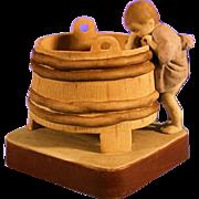 SALE Russian Gardner Porcelain Figurine Of A Child
