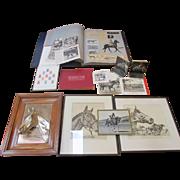 SALE Seabiscuit Collection ~ Memorabilia ~ Lot