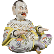 Meissen Porcelain Articulated Nodding Head Pagoda Figure