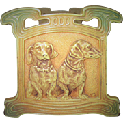 Circa 1930 Cast Iron Expanding Dachshund Book Rack Judd Manufacturing Company All Original ...