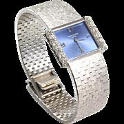 Patek Philippe Ladies Watch | 18K White Gold Diamond | Swiss Vintage
