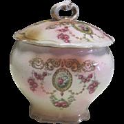 Powder Box-19th Century Porcelain