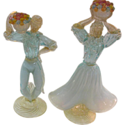 Murano Glass Figures