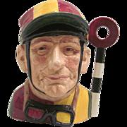 """Royal Doulton Large Character Jug """"Jockey"""""""